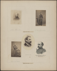 Five portraits: [two of] A. Von Steinwehr, F. L. Vinton, [two of] Egbert L. Viele