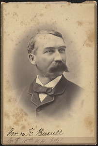George K. Russell, First Sergeant, Company E, 15th New Hampshire Volunteers