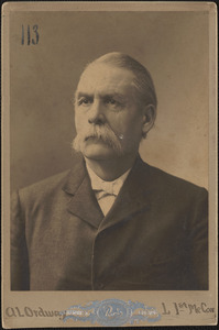 Augustus L. Ordway, Company L, 1st Maine Cavalry, 1901