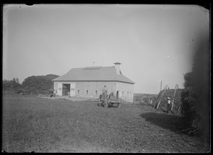 James Adams barn, built in place of one that burned 1918