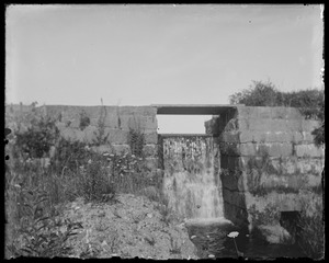 Waterfall - possibly at Dr. Fisher pond on North Road