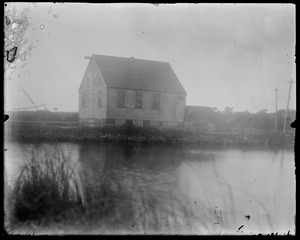 Old mill - WT - on State Road, taken from across the pond
