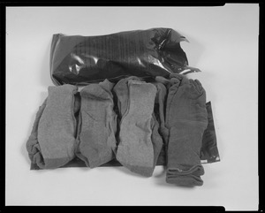 Line item glove and sock set, chemical protective