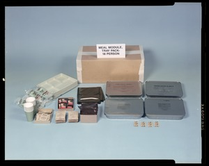 Meal module, tray pack - 18 person