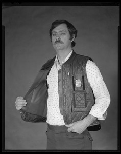 Quilted vest w/removable ballistic liner, Daigle, CEMEL