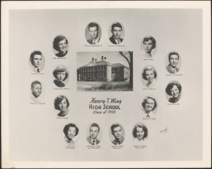 Henry T. Wing High School, class of 1953