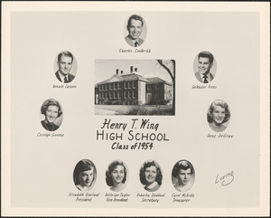 Henry T. Wing High School, class of 1954