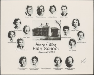 Henry T. Wing High School, class of 1955