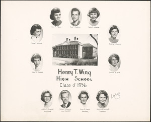 Henry T. Wing High School, class of 1956