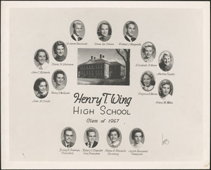 Henry T. Wing High School, class of 1957