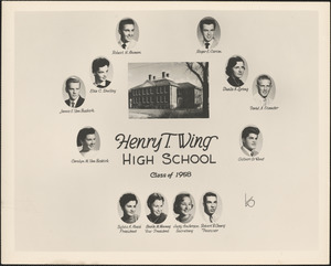 Henry T. Wing High School, class of 1958