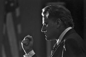 Billy Graham makes a speech, Plymouth