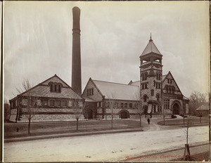 Distribution Department, Chestnut Hill High Service Pumping Station, Brighton, Mass., 1893