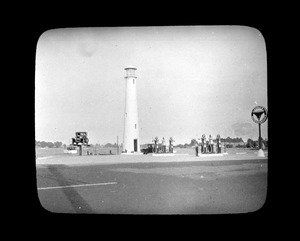 Lighthouse filling station, Quincy Oil Company