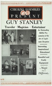 Carolina Assemblies present Guy Stanley