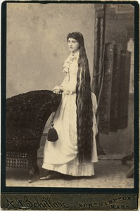 Alice C. House cabinet card, c. 1885