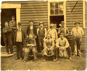 Tool Factory Workers, Williamsburg, Mass., circa 1900-1910