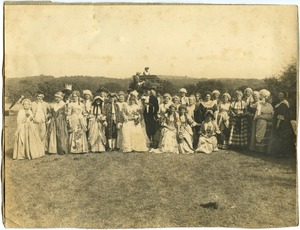 'Wedding Party,' 150th Anniversary Pageant, 1921