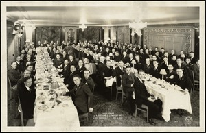 Sales Dinner, J.P. Stevens & Company, Inc., Hotel Roosevelt, New York City, 1936 [graphic]