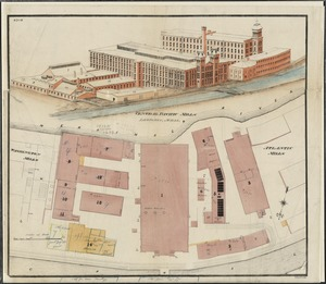 Central Pacific Mills, Lawrence, Mass. [insurance map]