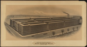 American Woolen Company, Wood Worsted Mills, Lawrence, Mass /