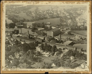 Aerial view of Davis & Furber Machine Company complex, North Andover, Mass. [graphic]
