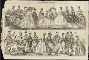 The latest fall styles of morning, evening, dinner and other costumes. - page 262.