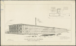 Massachusetts Mills in Georgia, Lindale, Floyd County, Ga. Mill No. 1, Capacity 30000 Spindles.