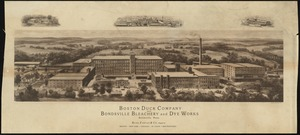 Boston Duck Company and Bondsville Bleachery and Dye Works, Bondsville, Mass. Bliss, Fabyan & Co., agents ...