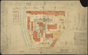 Everett Mills (Cotton Mill & Dye Works), Lawrence, Mass. [insurance map]