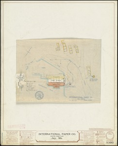 International Paper Co. (Electric Power Plant), Jay, Me. [insurance map]