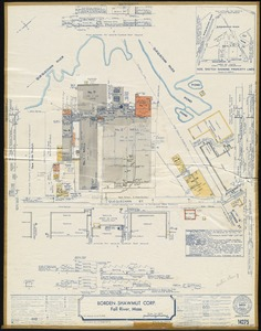 Borden-Shawmut Corp., Fall River, Mass. [insurance map]