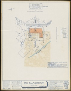Emily, G. M., & L. W. Hutchinson (Bldg.), Navaho Weaving Corporation, Tenant, Fall River, Mass. [insurance map]