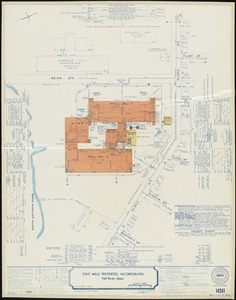 Flint Mills Properties, Incorporated, Fall River, Mass. [insurance map]