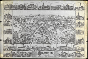 Maps of Franklin, Massachusetts