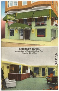 Schenley Hotel, ocean end of South Carolina Ave., Atlantic City, N.J.