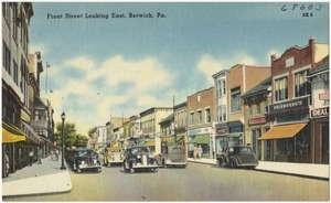 Front Street looking east, Berwick, Pa.