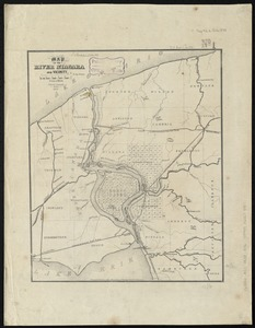 Map of the River Niagara and vicinity