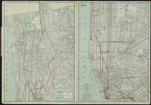 Hammond's complete map of New York City