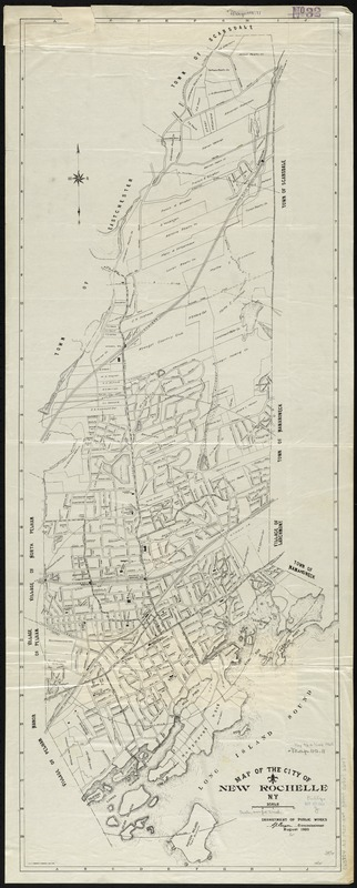 Map of the City of New Rochelle, N.Y