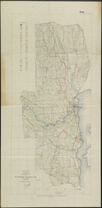 Topographic map of the Plattsburg Training Camp, New York