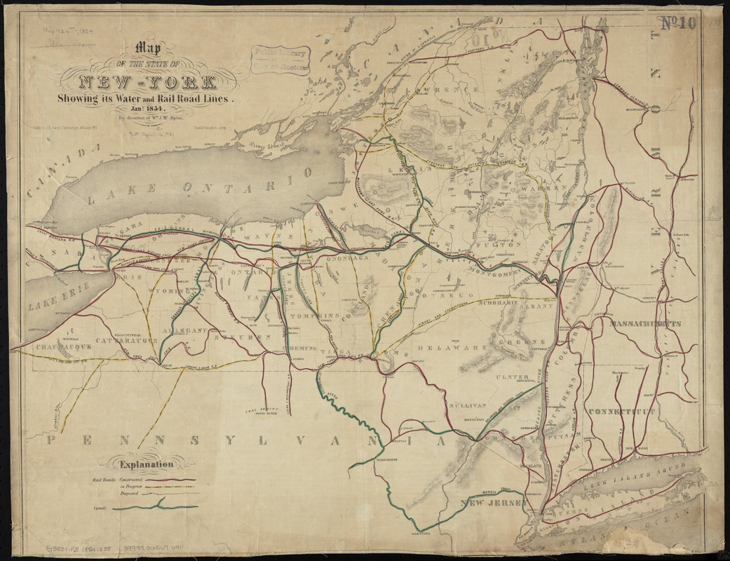 Map of the State of New-York