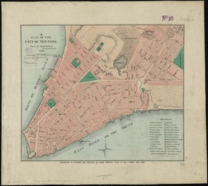 A plan of the city of New-York