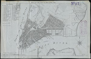 Plan of the city of New York, 1791