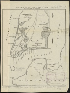 Plan of the city of New York