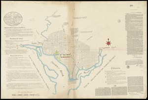 Plan of the city intended for the permanent seat of the government of t[he] United States