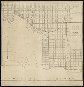 This plan contains about 1000 acres, of the Canton Company's Land