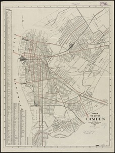 Map of the City of Camden and also the Borough of Wood Lynne