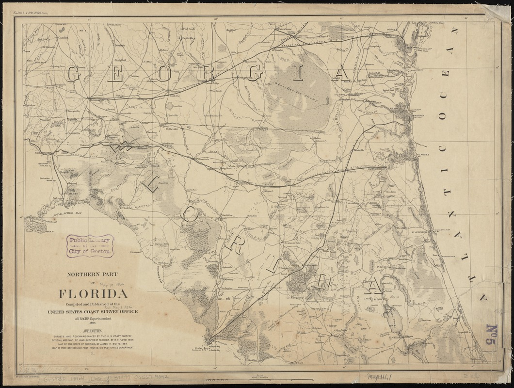 Northern part of Florida