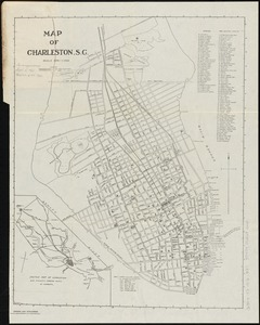 Map of Charleston, S.C